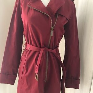 Michael Kors Raincoat Trench coat Dark Brandy XS